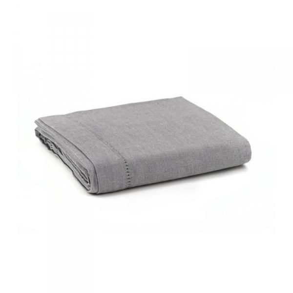 Tafelkleed grijs 140 x 230 cm