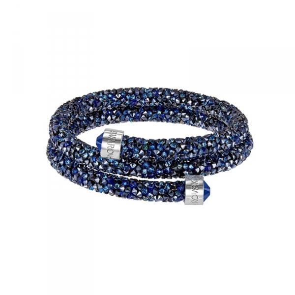 Armband Cry Blauw Strass