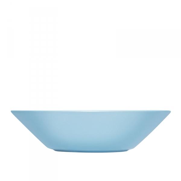 Diep bord 21 cm lichtblauw