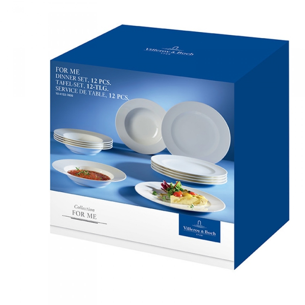 Dinerset, 6-persoons