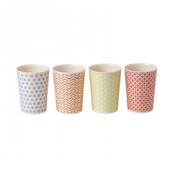 Melamine Bekers 300 ml, per 4