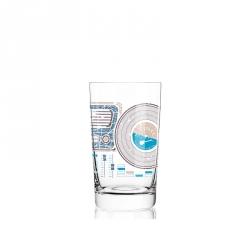Softdrinkglas muziek 300 ml - 016