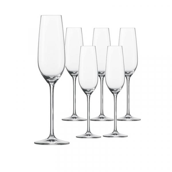 Champagneglas 7 0,24 l, per 6