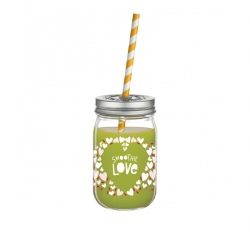 Smoothieglas Love - 001