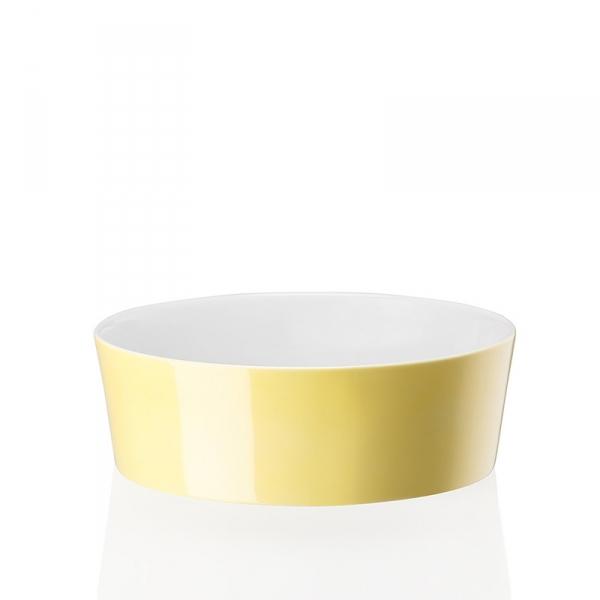 Schaal 21 cm Geel