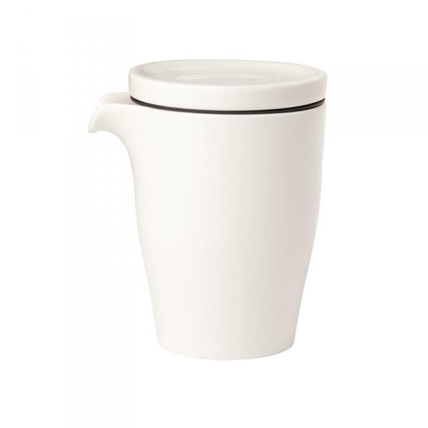 Koffiepot met deksel dubbelwandig