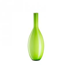 Vaas glas groen 39 cm