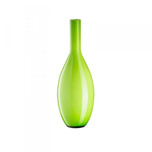 Vaas glas groen 50 cm