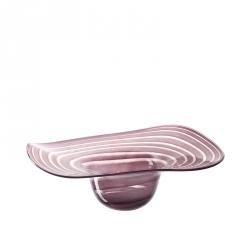 Deco hoed glas 45 cm