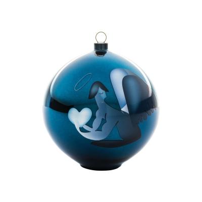 Alessi Blue Christmas kerstbal Angelo