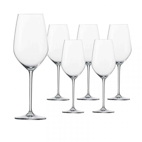 Rodewijnglas Bordeaux 130 0,63 l, per 6