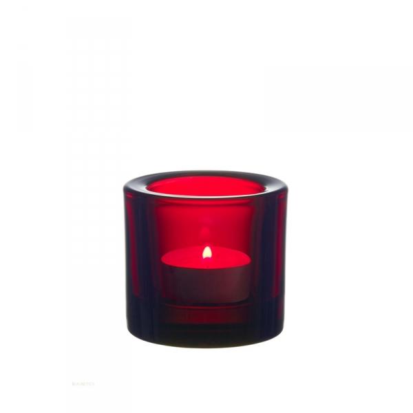 Waxinelichthouder 6 cm Cranberry