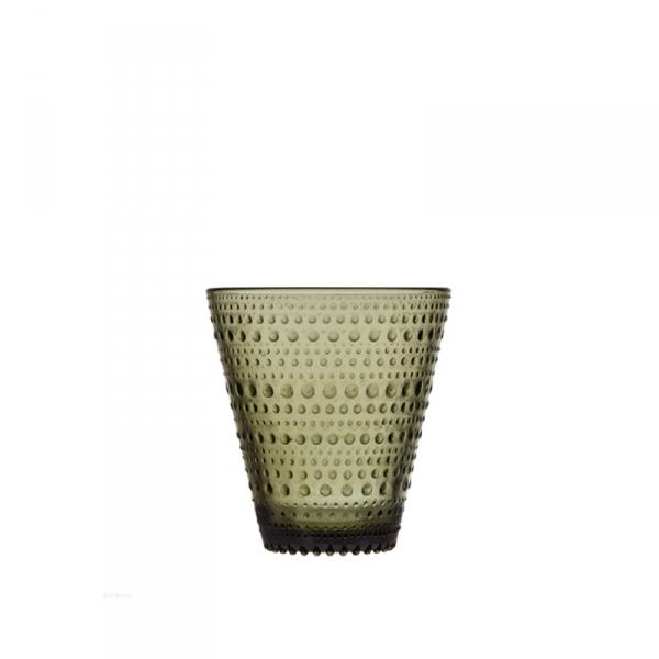 Waterglas 0,30 l mosgroen, per 2