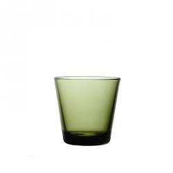 Waterglas 0,21 l Mosgroen, per 2