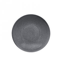 Bord diep 20 cm Dotted Grey