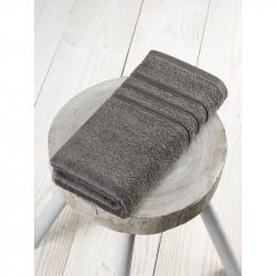 Handdoek steeple gray/anthracite 50x100 cm