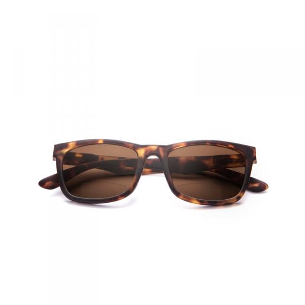 Zonneleesbril Brown +3.0