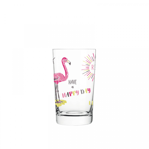 Waterglas 0,30 l flamingo - 022