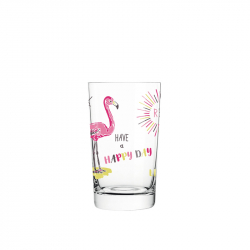 Waterglas 0,30 l flamingo - 022