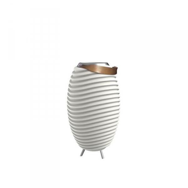 tafellamp wijnkoeler speaker 35 cm wit