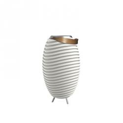 tafellamp wijnkoeler speaker 50 cm wit