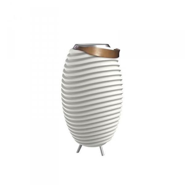 tafellamp wijnkoeler speaker 65 cm wit