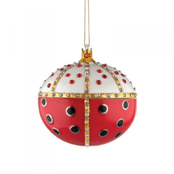 "Kerstornament ""Re Coccinello"""