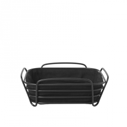 Broodmand 25 x 25 cm zwart