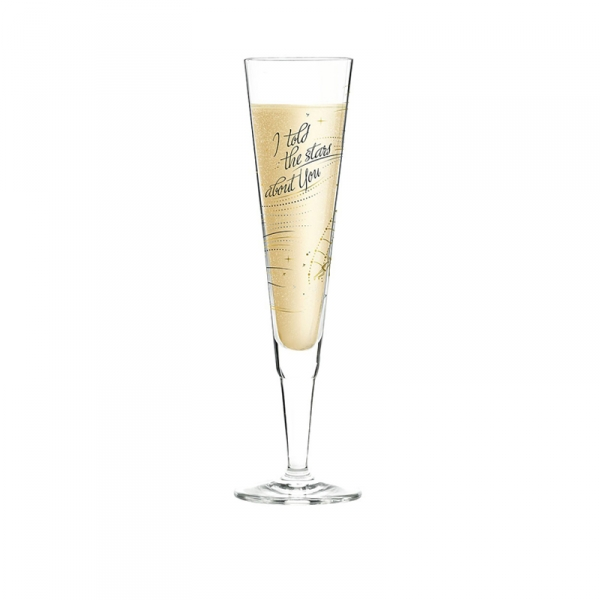 Champagneglas 269 i told the stars 0,20 l