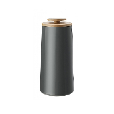 Stelton Emma Voorraadpot Koffie 0,5 kg Donkergrijs