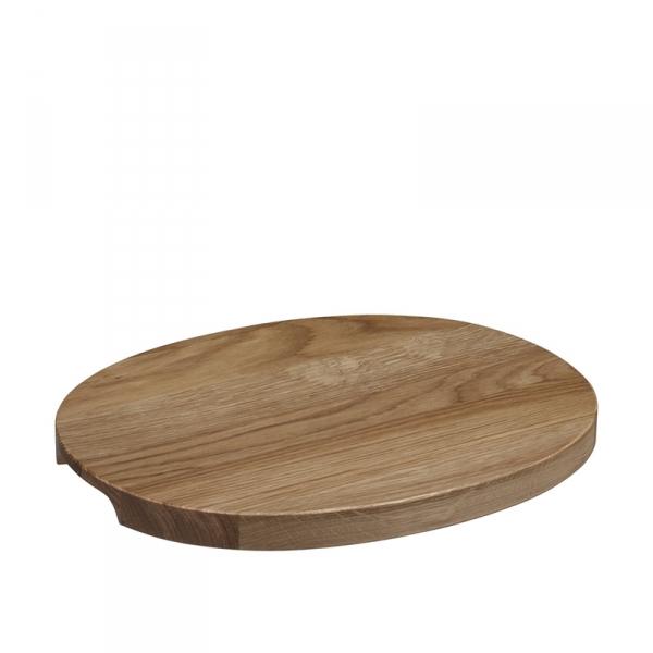 Serveerschaal 38,5 cm hout