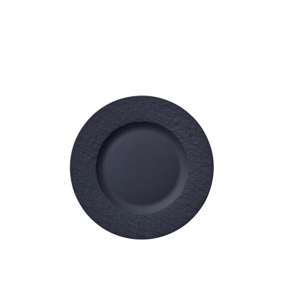 Villeroy & Boch Manufacture Rock ontbijtbord ø 22cm zwart