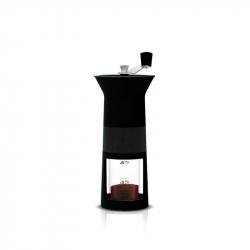 Handmatige koffiebonen maler zwart