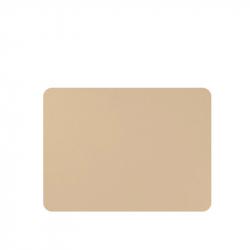 Placemats lederlook zand 33 x 45 cm , per 6