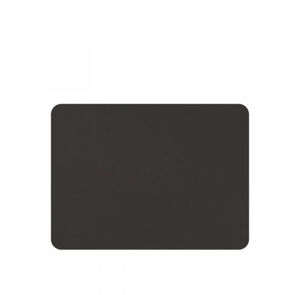 Placemats lederlook zwart 33 x 45 cm, per 6