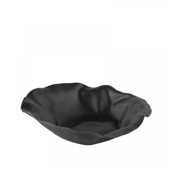Schaal 27,5 cm zwart
