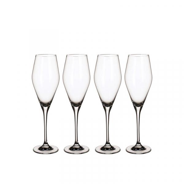 Champagneglas 0,26 l, per 4