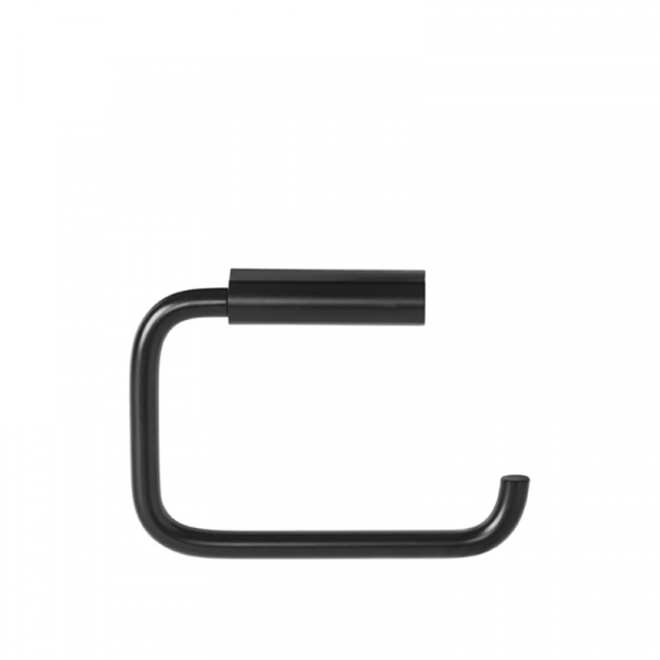 Toiletrolhouder staal zwart