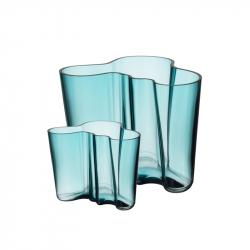 Vazen set 160 + 95 mm zeeblauw