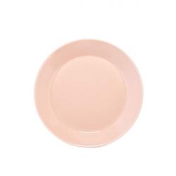 Bord 21 cm poeder roze