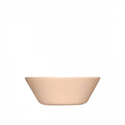 Schaal 15 cm poeder roze