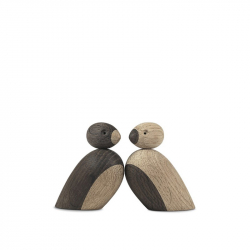 Mussen 2 stuks hout 6 cm