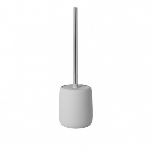 Toiletborstel Micro Chip keramiek licht grijs