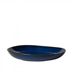 Schaal plat aardewerk 28 cm