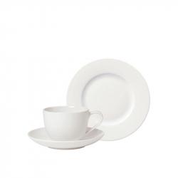 Koffie set ontbijtbord, kop en schotels 18-delig