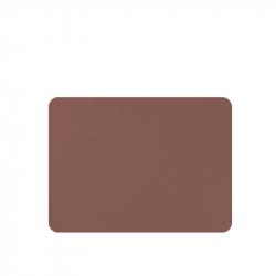 Placemats lederlook bruin 33 x 45 cm, per 6