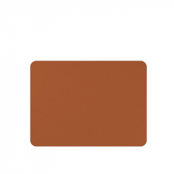 Placemats lederlook caramel 33 x 45 cm, per 6