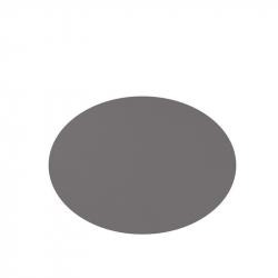 Placemats Lederlook 33 x 45 cm Grijs, per 6