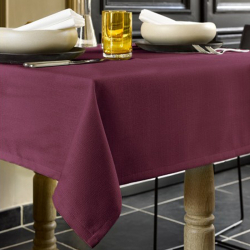 Tafelkleed 145 x 220 cm polyester Grape Wine