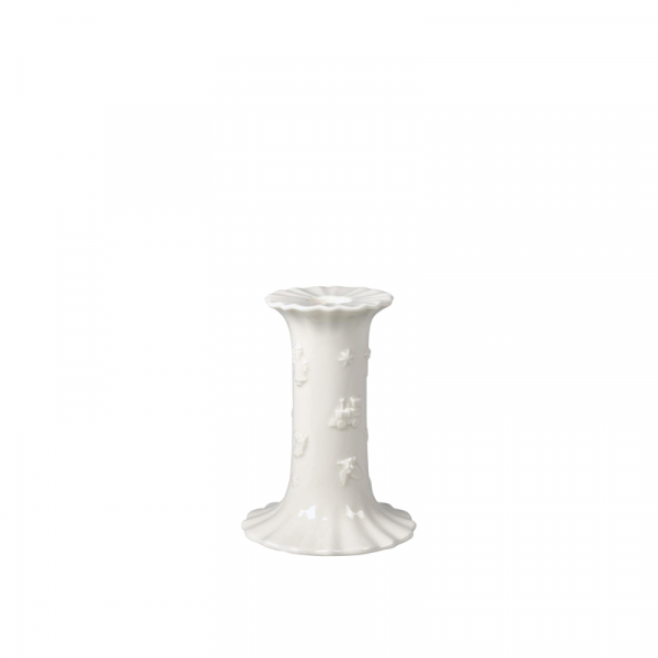Kaarsenhouder Porselein 12 cm Wit